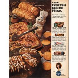 "1966 Pillsbury Ad ""Poppin' Fresh ideas"""