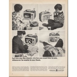 "1966 Show-'N-Tell Phono-Viewer Ad ""the classic stories"""