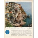 "1966 Pan Am Airline Ad ""Let us show you a Europe"""