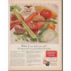 "1966 Campbell's Soup Ad ""took one out"""