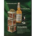 "1966 Old Crow Bourbon Whiskey Ad ""the whiskey they like"""