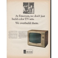 "1966 Emerson TV Ad ""We overbuild them"""