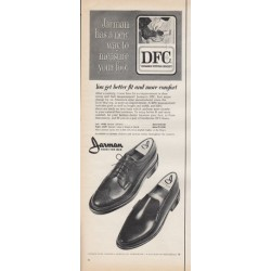 "1966 Jarman Shoes Ad ""You get better fit"""