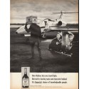 "1966 Imperial Whiskey Ad ""lets you travel light"""