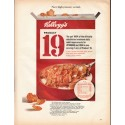 """1966 Kellogg's Product 19 Ad """"high potency cereal"""""""