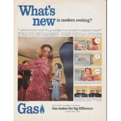 "1966 American Gas Association Ad ""What's new"""