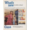"""1966 American Gas Association Ad """"What's new"""""""