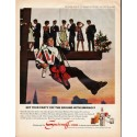 """1966 Smirnoff Vodka Ad """"Get your party off the ground"""""""