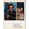 """1966 Jim Beam Ad """"See Sean Connery """""""