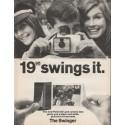 "1966 Polaroid Camera Ad ""The Swinger"""