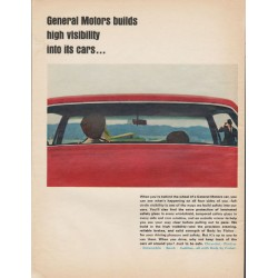 "1966 General Motors Ad ""high visibility"""