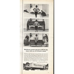 "1966 Mayflower Movers Ad ""moves you in"""