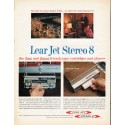 "1966 Lear Jet Stereo 8-track Ad ""So nice to come home with"""