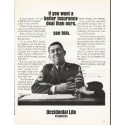 "1966 Occidental Life of California Ad ""better insurance deal"""
