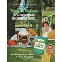 "1966 Salem Cigarettes Ad ""taste that's Springtime Fresh"""