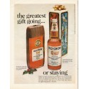 "1967 Old Crow Bourbon Whiskey Ad ""the greatest gift going..."""
