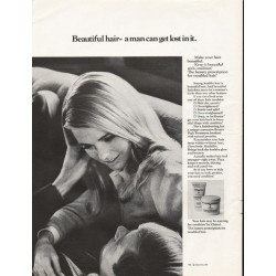 "1967 Clairol Condition Ad ""Beautiful hair"""