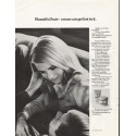 """1967 Clairol Condition Ad """"Beautiful hair"""""""
