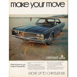 "1968 Chrysler Newport Ad ""make your move"" ~ (model year 1968)"