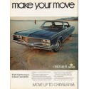 """1968 Chrysler Newport Ad """"make your move"""" ~ (model year 1968)"""