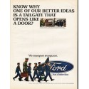 "1967 Ford Ad ""one of our better ideas"""