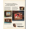 """1967 Admiral Television Ad """"If you can turn on a light"""""""