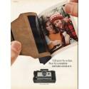 "1967 Polaroid Camera Ad ""Life goes by so fast"""