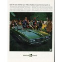 "1968 Pontiac Firebird Ad ""American sport of Wide-Tracking"" ~ (model year 1968)"