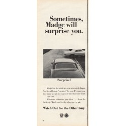 """1967 Advertising Council Ad """"Madge"""""""