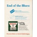 """1967 Schick Science Ad """"End of the Blues"""""""