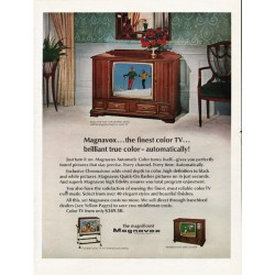"1967 Magnavox Television Ad ""the finest color TV"""