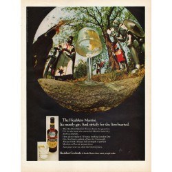 "1967 Heublein Cocktails Ad ""The Heublein Martini"""