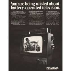 "1967 Panasonic Television Ad ""You are being misled"""