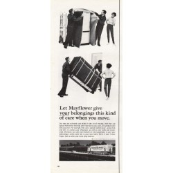"1967 Mayflower Movers Ad ""your belongings"""