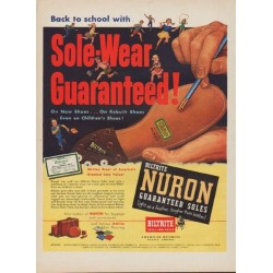 "1952 Biltrite Nuron Ad ""Back to school"""
