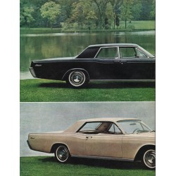 "1966 Lincoln Continental Ad ""unmistakably new"" ~ (model year 1966)"