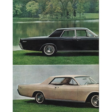 1966 lincoln continental vintage ad unmistakably new model year 1966. Black Bedroom Furniture Sets. Home Design Ideas