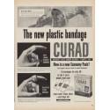 "1952 Curad Ad ""The new plastic bandage"""