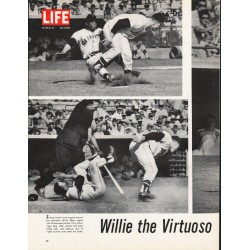 1965 Willie Mays Article ~ Willie the Virtuoso
