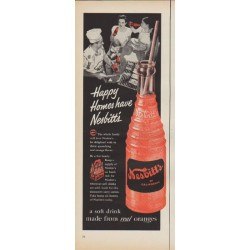 "1952 Nesbitt's Ad ""Happy Homes have Nesbitt's"""