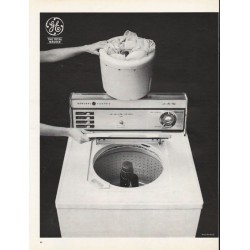 "1965 General Electric Washer Ad ""The Total Washer"" ~ Model WA850B"