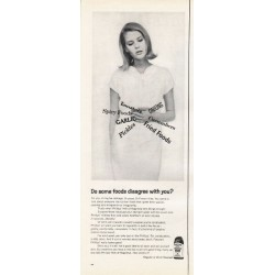 "1965 Phillips' Milk of Magnesia Ad ""Do some foods disagree"""