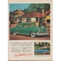 "1952 Studbaker Ad ""saves plenty of gas"""