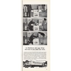 "1965 Mayflower Movers Ad ""this kind of care"""