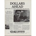 "1960 Allstate Insurance Ad ""Herbert Simon"""