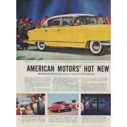 "1955 Nash Ad ""Hot New '55 Nash"""