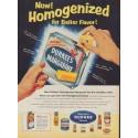 """1955 Durkee Margarine Ad """"Better Flavor!"""""""