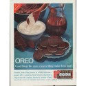 "1961 Nabisco Oreo Ad ""more creamy filling"""