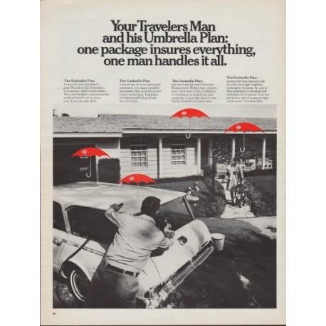 1967 Travelers Insurance Ad