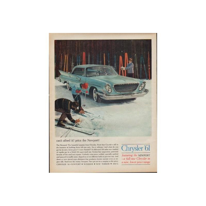 1961 Chrysler Vintage Ad